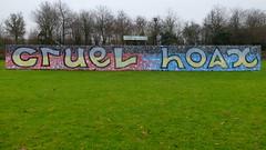 Graffiti Prinsenpark - Mongolz (oerendhard1) Tags: graffiti streetart urban art rotterdam prinsenpark cruel hoax mongolz henry makow