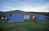 Campsite (SteveInLeighton's Photos) Tags: kodachrome transparency iceland 1984 july camping tent camp reykjahlid myvatn