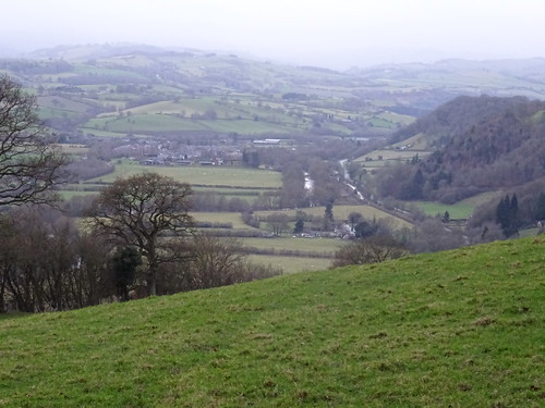 Little Llandinier, and around