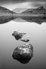 Harbingers (philnewberryphotography) Tags: longexposure landscape bleatarn lakedistrict bw stormy rocks blackandwhite le mountain
