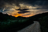 Dramatic Sensations. (skybluesky43) Tags: nikon d7100 sigma 1770 dramatic visions feelings sunset emotions road field mountains trees river sun red sky landscape roads portugal