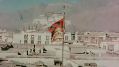 Tibetan Flag in Lhasa, 1959 (tibetanflag) Tags: tibet tibetan flag dalai potala vexillology independence 1959 lhasa