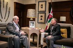 جلالة الملك عبدالله الثاني يستقبل نائب الرئيس العراقي، إياد علاوي (Royal Hashemite Court) Tags: jordan kingabdullahii kingabdullah iraq الاردن الملك عبدالله العراق