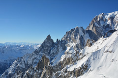 Sul Monte Bianco - On the Mont Blanc. (sinetempore) Tags: sulmontebianco onthemontblanc montebianco montblanc alpi alps neve snow courmayeur roccia rocks