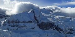 Fond d'Aspe - Frontière - Pyrénées (Démocrite, atomiste dérouté) Tags: valléedaspe picsdaspe montagnesenneigées hiver brumes pyrénées frontière france espagne sudouest