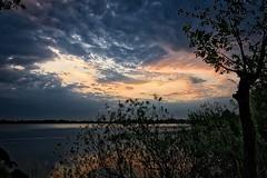 Cloud Fascination (martintimmann) Tags: fascinatinglight sundown water sea lake sun