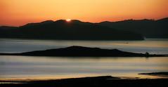 The sun finally sets on 2016 (TJ Gehling) Tags: sunset sanfranciscobay brooksisland angelisland 2016 newyearseve newyearseve2016 happynewyear hillsidenaturalarea elcerrito