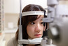 Female doctor inspecting patient's eye (Apricot Cafe) Tags: img628998 japan kanagawa sigma35mmf14dghsm confidence doctor eyeclinic happiness healthcare hospital indoor medical modelshooting nurse ophthalmology patient people relaxation relief smile sagamiharashi kanagawaken jp