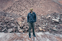 the.human.scale (jonathancastellino) Tags: hamilton portrait escarpment mountain sediment rock friend parkour leica q series figure ice snow winter cold rocks