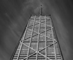 John Hancock Center-Chicago (abso847) Tags: chicago usa john hancock center building black white monochrome architecture city sky