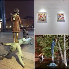 艺术 关于官舍 (nefasth) Tags: takashimurakami art sculpture 关于官舍 pékin beijing chine china 中國 diptic yanshilin fireworkindaylight 北京