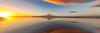 Kapiti Island 7shot Pano (bob_katt) Tags: kapiti island panorama sky sunset sea sand sun silhouette rangituhi channel cloud coast colour northisland newzealand natural wonders weather water wind canon eos500d reflections