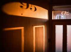 #95 (tripowski) Tags: mamiya mamiya645 mamiya645protl 645 645protl 80mm 80mmf19 light shadow shade house hall orange chiaroscuro kodak kodakportra kodakportra160 portra portra160 film mediumformat