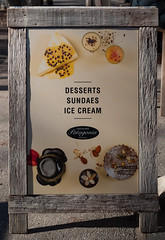 Ice Cream Below Freezing ? (deltics) Tags: signage commercial southisland newzealand nz icecream arrowtown otago