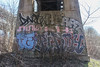 Dart, Heart, Kh, Fe, Piday (NJphotograffer) Tags: graffiti graff new jersey nj trackside rail railroad bridge dart heart kh roller fe piday