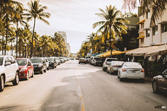 Miami Beach (FOXTROT ROMEO) Tags: oceandrive miamibeach miami fla florida beach usa travel street money cars palms palmen