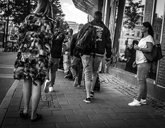 Blocked (Henka69) Tags: street streetphoto candid göteborg gothenburg bw monochrome