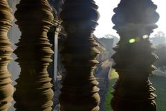 Angkor Wat Balusters (Buzz Hoffman) Tags: cambodia khmer siemreap angkorwat ruin baluster window ancient
