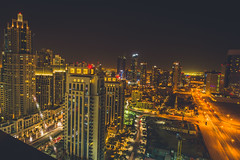 A part of the world (Ali Sabbagh) Tags: urban city longexposure eos7d canon architecture lights street dxb uae dubai night