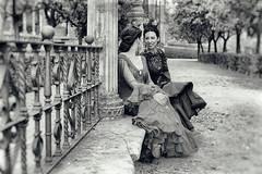 (Matías Brëa) Tags: sevilla antigua retrato flamenco modelos mujeres virado