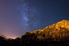 Petra, May 2015 (Ben Almeras) Tags: sky stars nightscape petra jordan climbing tombs