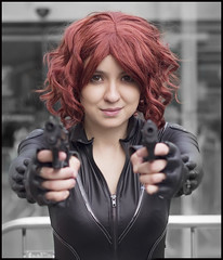 ComicCon London - May 2015 (Craig 2112) Tags: black london comic may cropped widow comiccon con excel mcm 2015