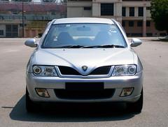 2004 Proton Waja 1.6 AT (ENH) in Ipoh, MY (07, Exterior) (Aero7MY) Tags: 2004 car sedan malaysia 16 saloon ipoh enhanced proton enh waja 16l 4door impian at 4g18
