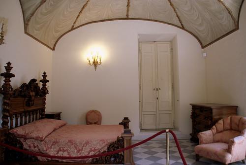 Rom, Villa Torlonia, Casino Nobile, Schlafzimmer des Giovanni ...