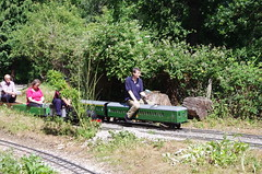 IMGP2748 (Steve Guess) Tags: uk england train miniature central railway surrey junction steam everglades gb hardwick lyne chertsey 725 cockcrow