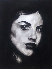 Frances Cobain watercolour