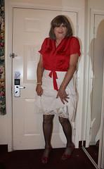 new67315-IMG_6687t (Misscherieamor) Tags: tv feminine cd motel tgirl transgender mature sissy tranny transvestite crossdress ts gurl tg travestis travesti travestie m2f xdresser tgurl satinblouse showingslip