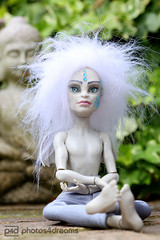 mr. atlantis doing the yoga (photos4dreams) Tags: stilllife fashion stone toy toys design doll handmade oneofakind ooak style stilleben piercing gargoyle stillife custom dolly piercings hybrid stein mattel puppe warpaint gills repaint wasserspeier pppchen kriegsbemalung raggery kiemen handbemalt photos4dreams photos4dreamz thisismydesign p4d monsterhigh fashionneverdies mratlantisp4d marinusatlantis dollmakeupartist