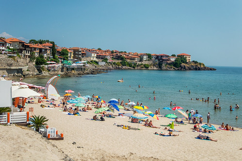 Central beach Sozopol