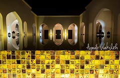 Reflections (Ayoub Wakileh) Tags: light reflection water night oman salalah reciprocity