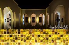 Reflections (Ayoub Wakileh) Tags: light reflection water night oman salalah reciprocity