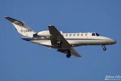 Private --- Cessna 525A Citation CJ2 --- D-IAMO (Drinu C) Tags: plane private aircraft aviation sony dsc cessna citation mla cj2 bizjet 525a privatejet diamo lmml hx100v adrianciliaphotography