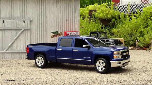 chevrolet pickuptruck silverado diecast 2014 124scale norscot