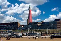 Leuchtturm Scheveningen (nubes supplement) (ralf.st) Tags: holland scheveningen leuchtturm ralfstamm meer küste niederlande 2016 nordsee strand denhaag zuidholland nl