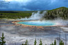A Grand View (Bill Maksim Photography) Tags: yellowstone national park nationalpark photography hotspring oldfaithful lodge inn grand prismatic spring mammoth gardiner west summer winter eruption hike trail wildlife bear grizzly bison canyon woods camp wyoming montana views beauty
