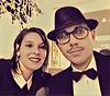 Me and my wife (Frigo78) Tags: me vintage autoritratto selfportrait