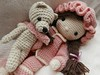 Laura and her little friend (Lenekie) Tags: amigurumi crochet doll toy handmade