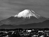 Mount Fuji (Rekishi no Tabi) Tags: mountfuji 富士山 yokohama 横浜 minatomirai japan kanagawaprefecture sony monochrome