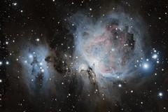 M42 - Orion Nebula (alternate edit) (Andrew Klinger) Tags: