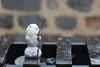 Da war doch was?.... Schnee? (diwan) Tags: germany deutschland sachsenanhalt saxonyanhalt magdeburg city stadt schnee snow schneemann snowman little klein bokeh schärfentiefe outdoor fundstück canoneos5dmarkiv canon eos 2017 geotagged geo:lon=11637807 geo:lat=52127020