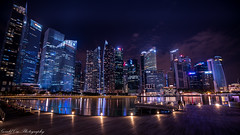Singapore Central Business District (Gerald Ow) Tags: sony a7rii a7r2 fe 1635mm f4 oss za singapore cbd central business district geraldow ilce7rm2 night photography long exposure