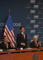 Reunión con U.S.-Mexico CEO Dialogue (Presidencia de la República Mexicana) Tags: presidente presidencia enriquepeñanieto epn estadosunidos empresarios