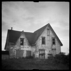 Toronto #2 (LowerDarnley) Tags: traceflex dianaclone pei princeedwardisland toronto rural abandoned house atlanticcanada maritimes