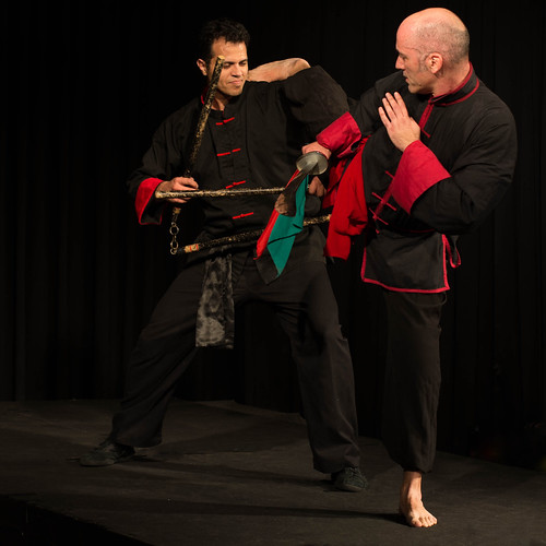 Mentor - Photoshow 2017. Kung Fu demonstration