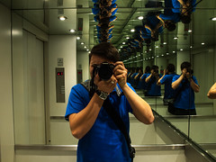 Me, Myself & I (Ádám Lukács) Tags: me myself photo olympus blue legend lift loadsof loads