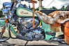 Aug 3 2015 - Indian 111 cu in - Hot Springs SD (La_Z_Photog) Tags: lazy photog elliott photography sturgis south dakota black hills motorcycle rally races classic selective color 080315hotspringssd